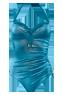 holi glamour dusk blue plunge balcony bathingsuit