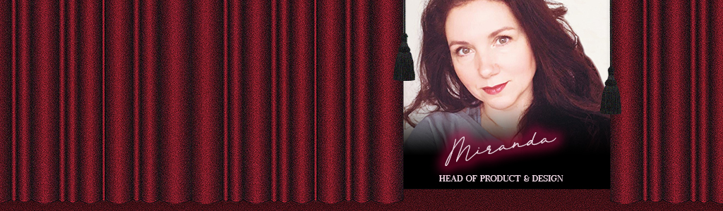 Miranda as your personal stylist banner