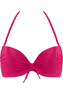 Musubi Pink push up bikini top