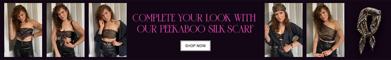own your spots scarf banner desktop