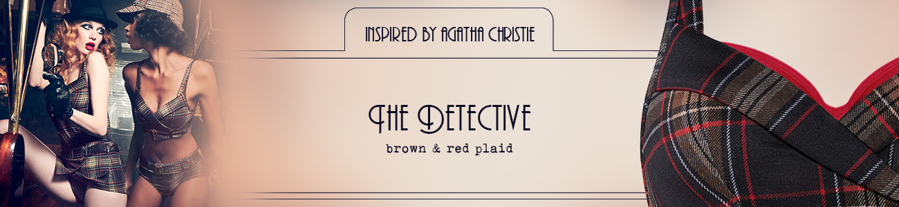 FW20 couture collection The Detective header banner