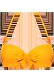 papillon eye-popping orange