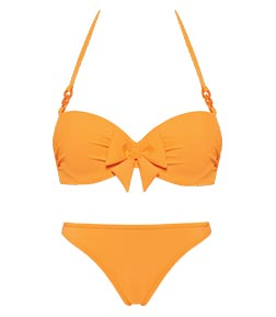 swimwear papillon orange SS19