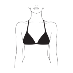 What is a triangle bra