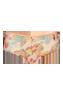 oriental morphosis powdery pink 12 cm brazilian shorts