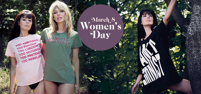 marlies dekkers womensday t-shirts mobile shopbanner