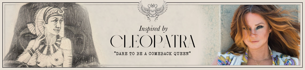 SS21 collection Cleopatra header banner