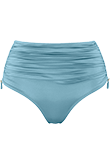 Holi Glamour aqua blue high waist briefs