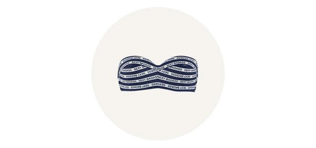 cache coeur signature swimwear