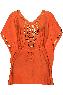 holi glamour marigold orange kaftan