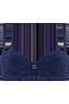 Puritsu Blue plunge balcony bikini top