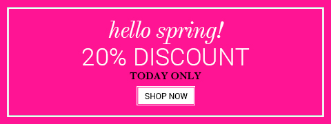 20% spring discount