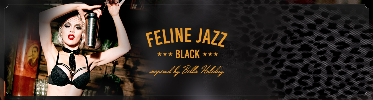 FW19 collection Feline Jazz Black header banner