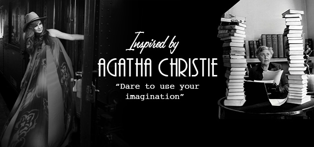 FW20 collection inspired by Agatha Christie header banner