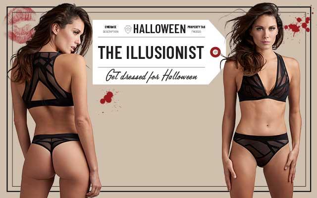 marlies dekkers get dressed for  halloween shopbanner mobile