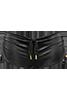 holi glamour Black drawstring shorts