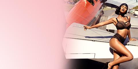 marlies dekkers lets get glam flyout