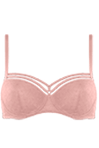 seduction mellow rose balcony bra
