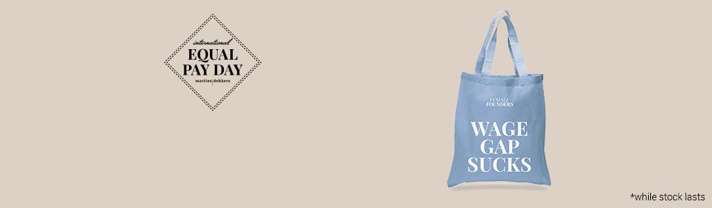 marlies dekkers equal pay day free bag banner desktop