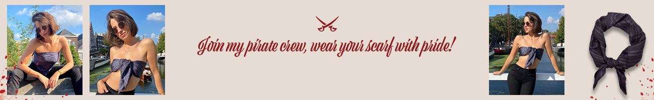 pirate scarf banner desktop