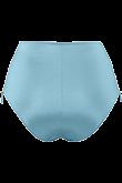 Holi Glamour aqua blue high waist briefs