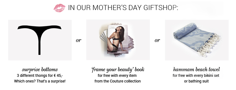marlies dekkers category banner mother's day giftshop