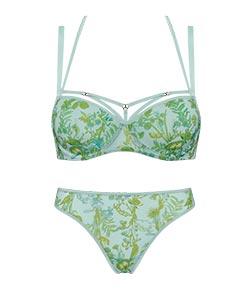 style lingerie jardin des herbs soft green SS19