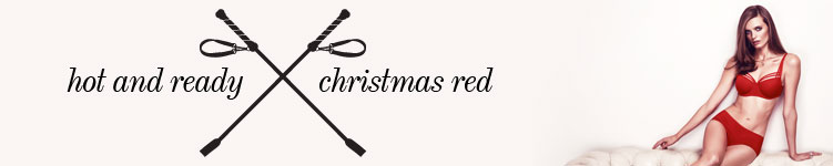 marlies dekkers category banner christmas red gifts