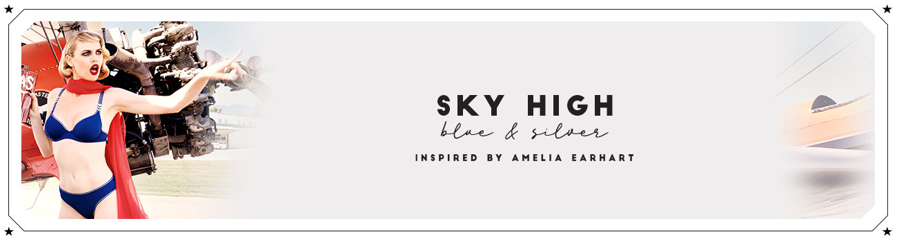 SS20 collection Sky High header banner