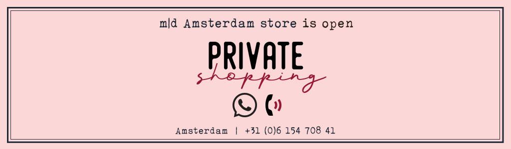 private shopping marlies dekkers amsterdam banner desk