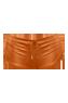 holi glamour marigold orange drawstring shorts