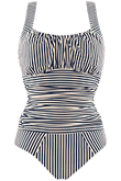 holi vintage blue ecru unwired bathing suit