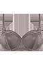 Dame de Paris plum truffle balcony bra