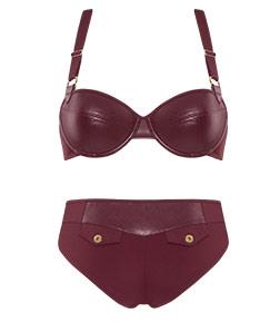 style lingerie collection Femme Fatale bordeaux FW18