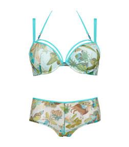 Style oriental morphosis Indian Azalea lingerie
