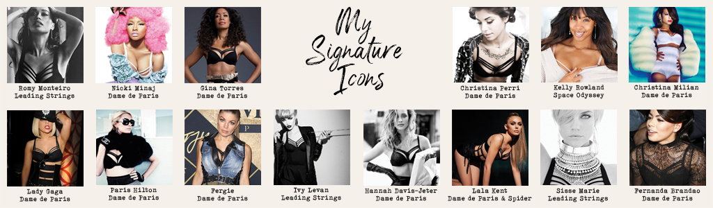 marlies dekkers signature icons banner