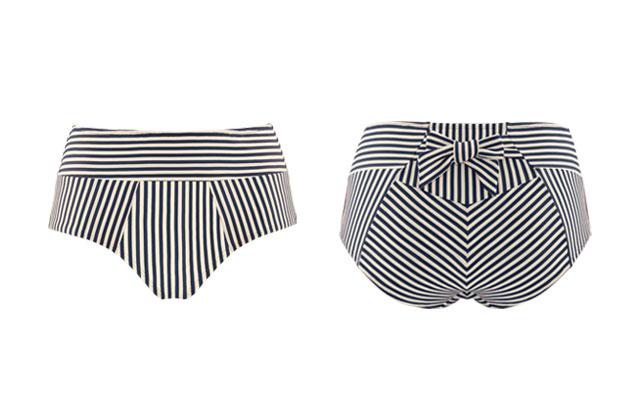 what are high waist bikini briefs
