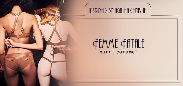 FW20 style collection Femme Fatale burnt caramel header banner mobile