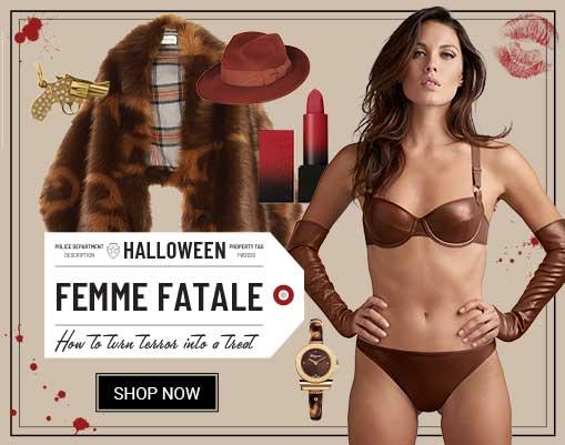 get dressed halloween femme fatale