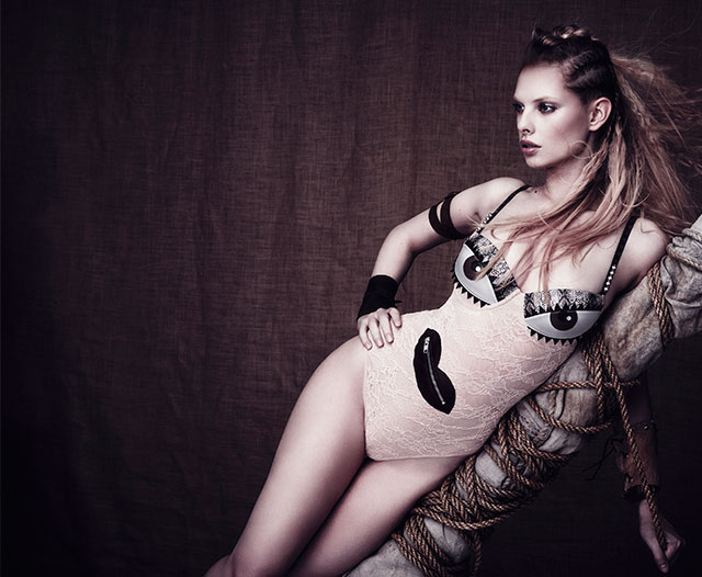 Marlies Dekkers Couture Lagertha and Ragnar
