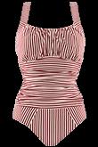 holi vintage red ecru unwired bathing suit