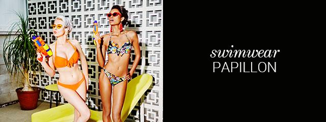 SS19 swimwear collection papillon orange