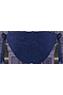 Puritsu Blue tie & bow briefs