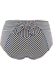 holi vintage blue ecru high waist briefs
