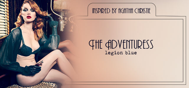 FW20 style collection The Adventuress legion blue header banner mobile