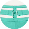 Style Space Odyssey Green Lagune bottom details