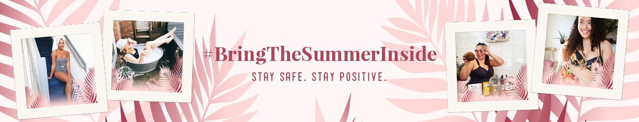 Bring the summer inside header banner