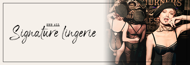 Signature collection see all lingerie