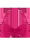 Musubi Pink Plunge balcony bikini top