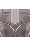 Dame de Paris plum truffle push up bra